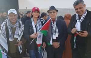 Nabila Mounib's Fashion Faux Pas Sends Wrong Message in Rabat March for Jerusalem