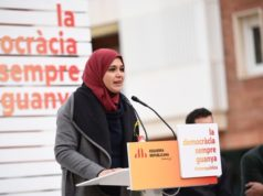 Najat Driouech First Moroccan Muslim Woman in Catalan Parliament