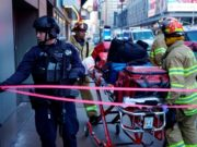 New York Bus Terminal Explosion