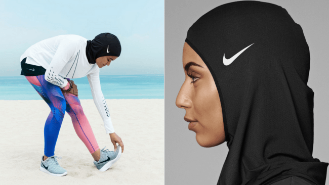 Launches Pro Hijab For Female Muslim Athletes - Nike is going to launch a hijab collection developed together with muslim athletes