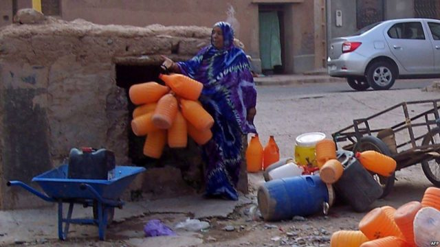Ouarzazate court, Water scarcity, Zagora, Thirst Protests