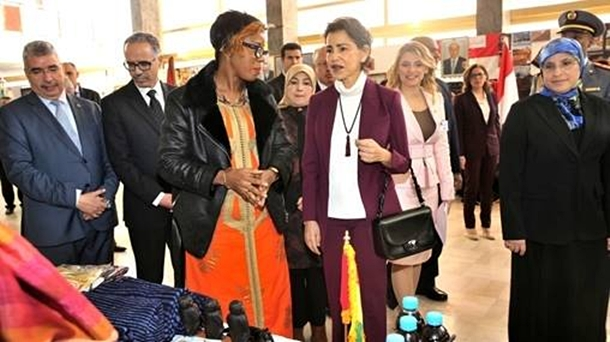 Princess Lalla Meryem Chairs in Rabat Inauguration Ceremony of Diplomatic Circle Charity Bazaar