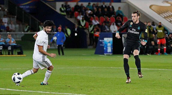 Al Jazira v Real Madrid 13 December 2017