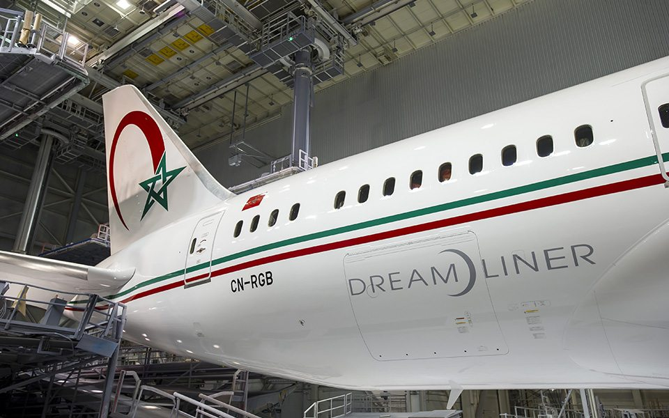 Royal Air Maroc revealed as customer for four 787-9s