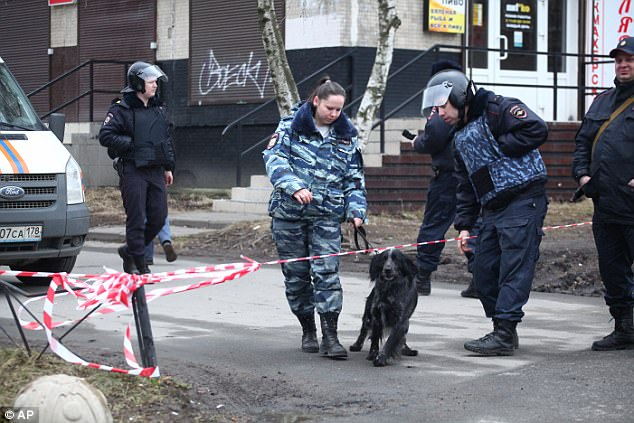 Russian Police Arrest Author of St. Petersburg's Bombing Attack