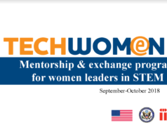 Techwomen, STEM program in the US, Moroccan Women, Women leaders in STEM