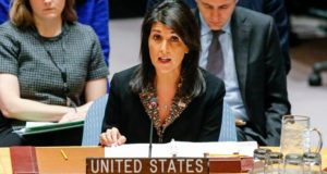 Nikki Haley, Jerusalem, Israel, Donald trump, Palestine, UN General Assembly