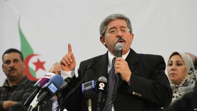 Algeria's PM Ouyahia