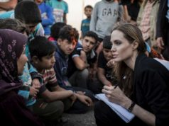 Angelina Jolie Visits Za'atari Refugee Camp, Calls for 'Principled End to Senseless War'