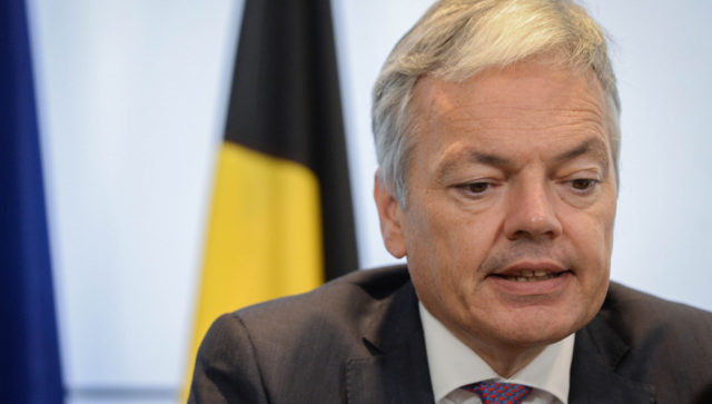 Belgian Deputy Prime Minister and Foreign Affairs Minister Didier Reynders