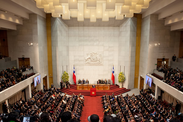 Chile's Senate. Western Sahara