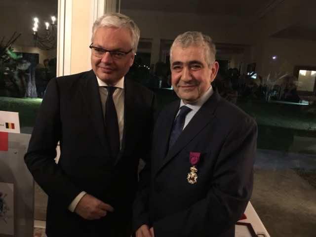 Driss El Yazami Receives Leopold's Order, Highest Belgian Honor