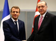 Erdogan to Discuss Unrest in Palestine and Syria with Macron in Paris Jan.5