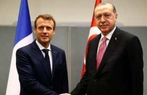 Erdogan to Discuss Unrest in Palestine and Syria with Macron in Paris Jan.5