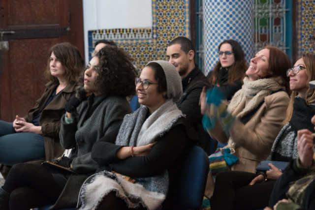 Fez Gathering in Fez Medina