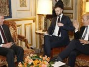 Jean-Yves le Drian, French Minister for Europe and Foreign Affairs, met in Paris, Horst Kohler,
