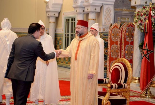 King Mohammed VI Receives Several Foreign Ambassadors in Casablanca