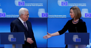 Palestine's Mahmoud Abbas Calls on EU to Recognize Palestine