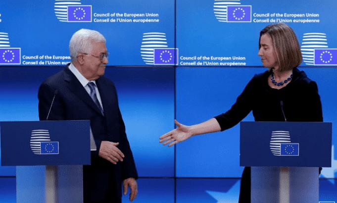 Palestine's Mahmoud Abbas Calls on EU to Recognize Palestine