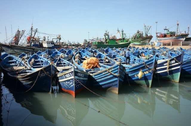 Remains of Archeological Ship Appear on Essaouira Coast