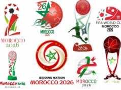 Morocco 2026 World Cup Bid Logos
