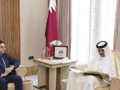 Qatar's Emir Receives Written Message From King Mohammed VI