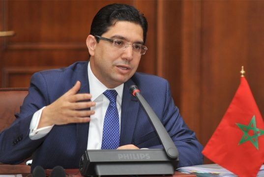 Nasser Bourita, Morocco's Minister of Foreign Affairs and International Cooperation