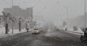Icy Cold Weather Persists in Morocco