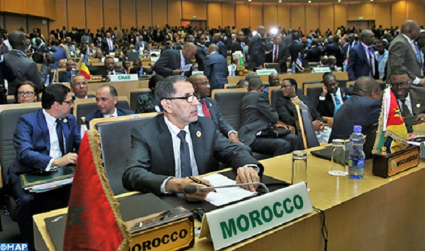 Saad Eddine El Othmani AT THE African Union