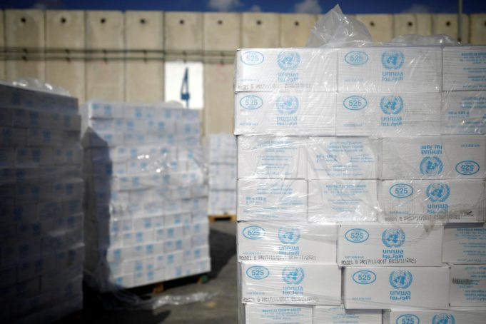 US to Cut $65 Million from UN Aid to Palestinians