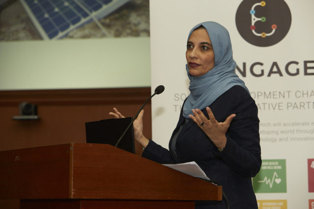 Dr Hayat Sindi, the Chief Scientific Advisor to the President of the Islamic Development Bank (IsDB)