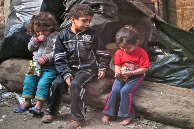 Street Children Problem in Egypt continues