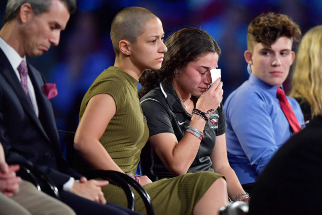 Survivors of Florida School Shooting Promise Fight Against Gun Violence