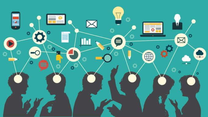 Entrepreneurship concept art