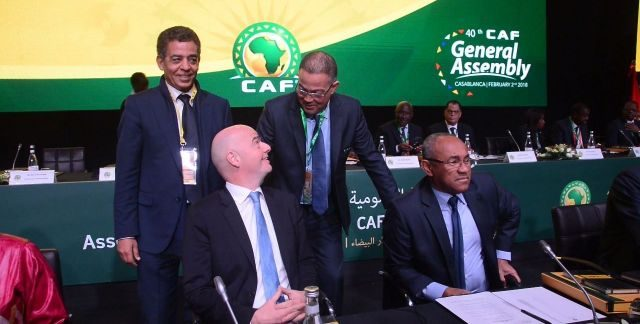 FIFA President Calls on CAF to Remain Neutral on 2026 World Cup Bid, CAF Head Ahmad Ahmad Reacts