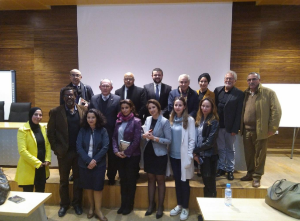 Colombian contemporary literature pays a gracious visit to the International University of Rabat