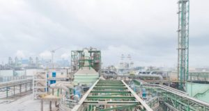 Jorf Lasfar, a few kilometers from #Casablanca, here over 2 million tonnes of phosphoric acid per year are produced!