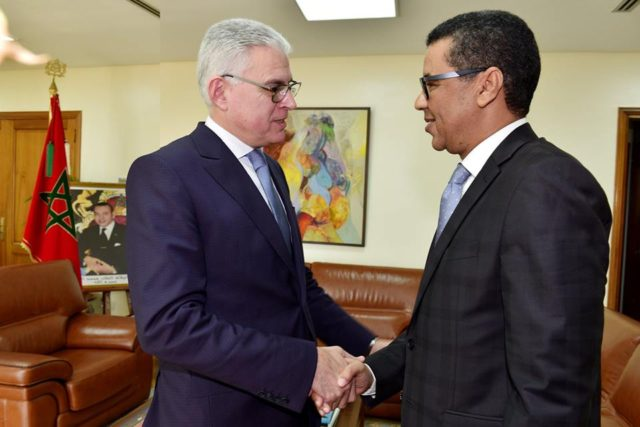 Mauritania's Ambassador to Rabat Presents Credentials to Morocco's Foreign Ministry