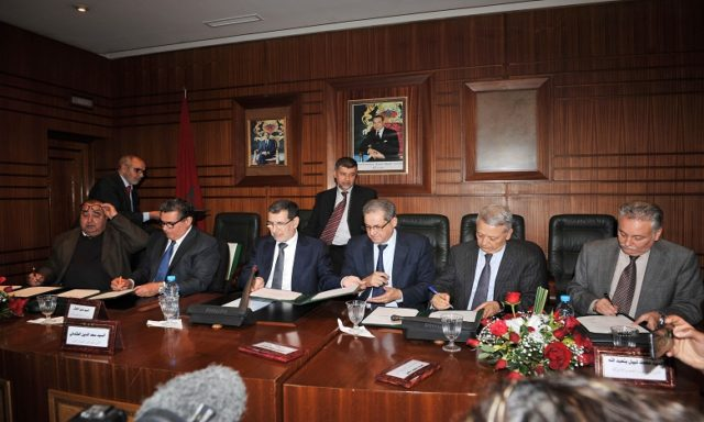 Government Coalition Leaders Sign Charter for Joint Action to Tackle Morocco's Internal, External Priorities