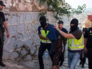 Spanish police arest a Moroccan terrorist
