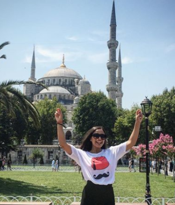 Najlae in the Turkish Land: Moroccan Voyager Shares her Traveling Experience Through 'Yallah M3aia' Web Program