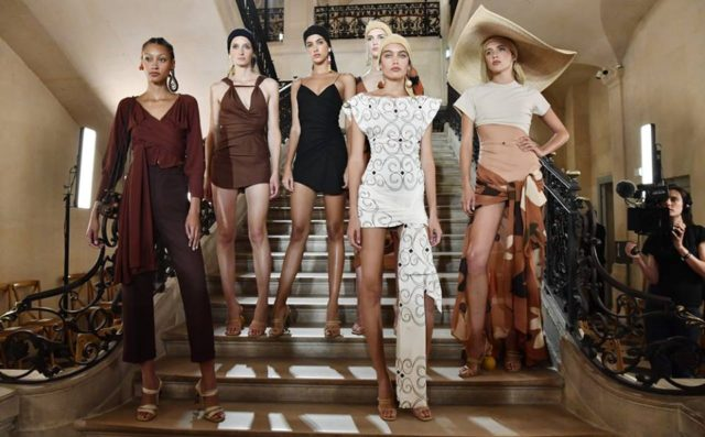 Moroccan Souks Made into Fashion Collection in Paris Fashion Week