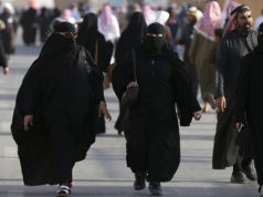 Saudi Women with Abaya