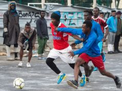 When Migrants At The Oulad Ziane Camp Dream of Professional Football
