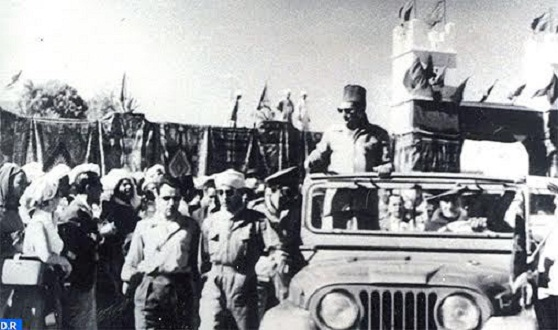 It Has Been 60 Years Now Since Late King Mohammed V Visited M'hamid El Ghizlane