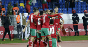 The Atlas Lions, Morocco's Team during the CHAN 2018