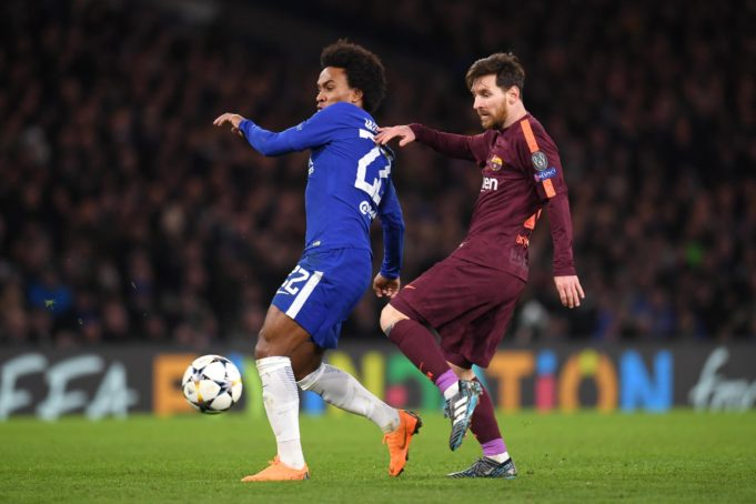 "Messi Breaks ""Chelsea Curse"" as Willian Delivers an Impeccable Performance"