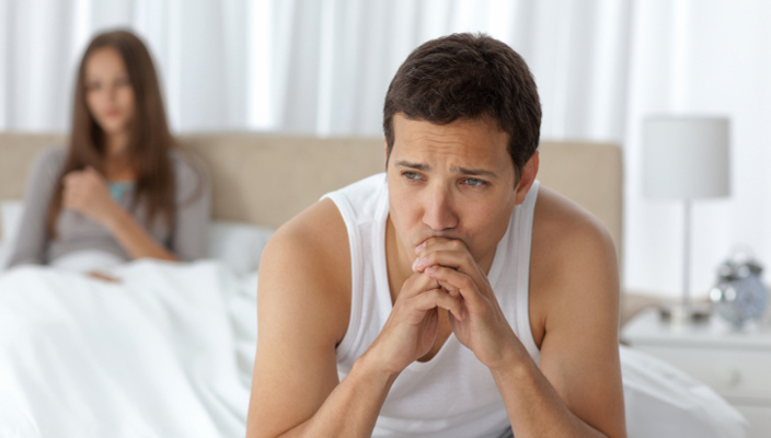Erectile dysfunction wife denies sex