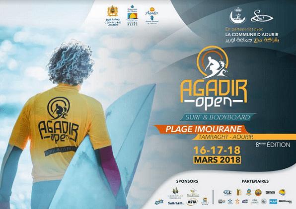 Agadir to Host 8th Annual Agadir Open Surf & Bodyboard Competition