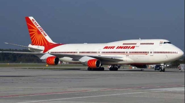 Air India makes history flying to Israel over Saudi Arabia